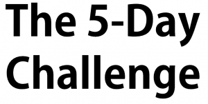 5 day challenge
